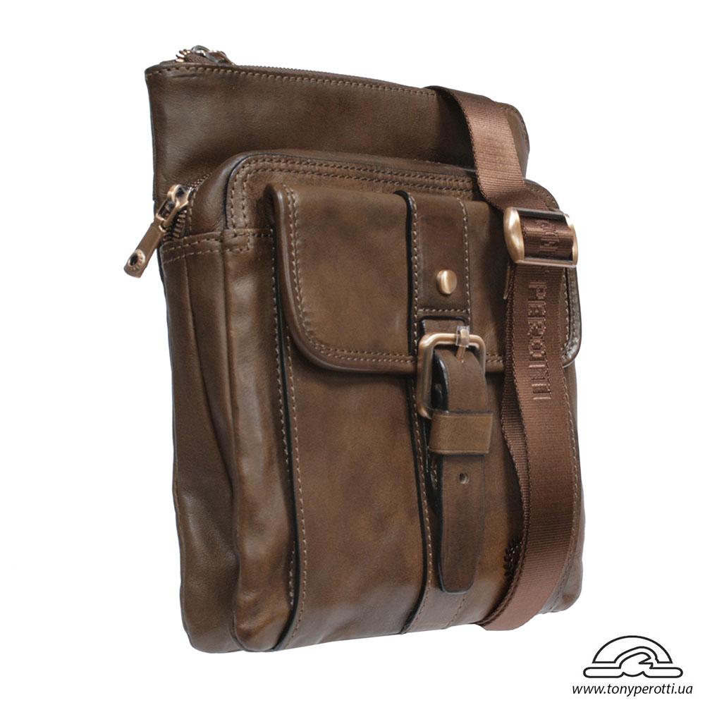 f6f07f40a105 купить винтажную сумку Vintage 9279 Tony Perotti коричневую на распродаже - интернет  магазин Tony Perotti